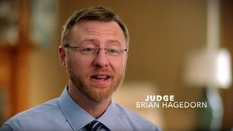 Judge Brian Hagedorn is the conservative candidate running for a seat on the Wisconsin state Supreme Court.