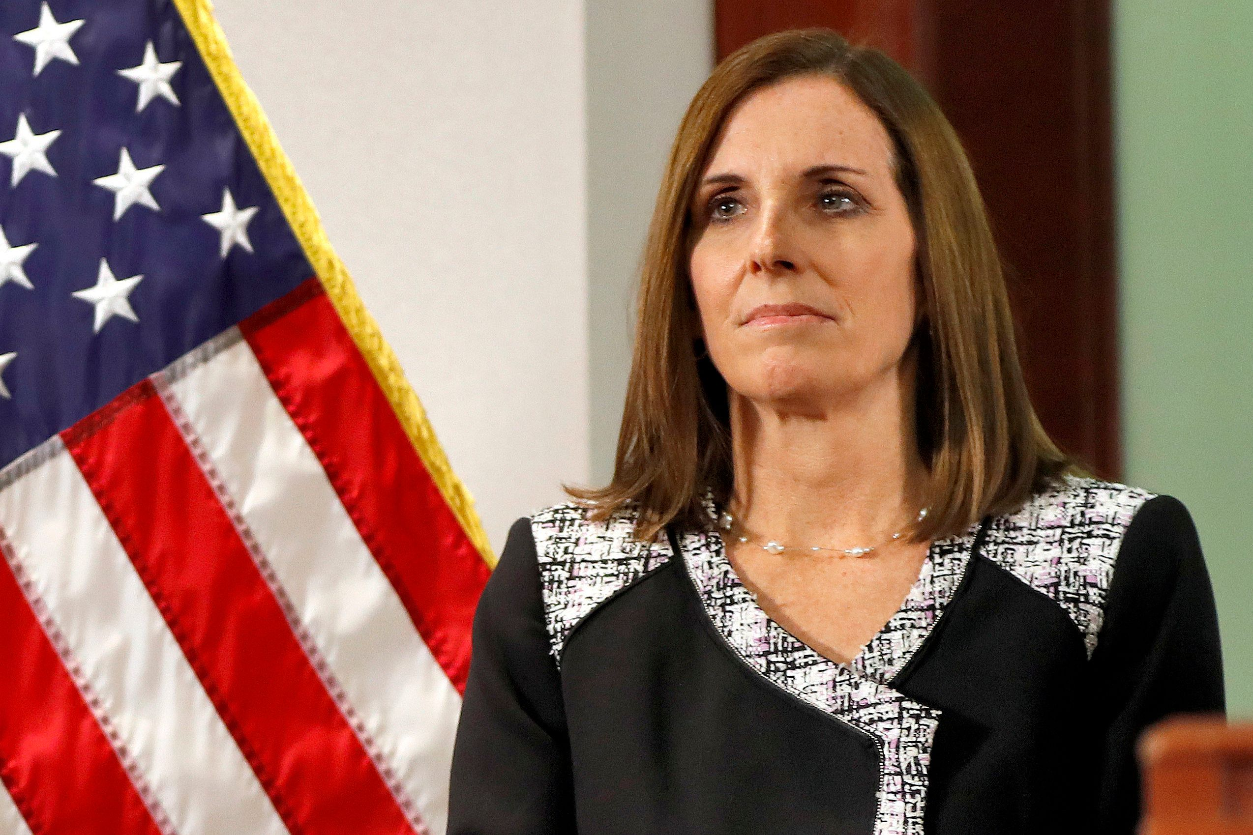 Sen. Martha McSally Says She Was Raped While In The Air