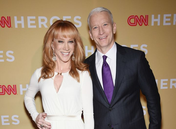 "Kathy Griffin said she was ""devastated"" when Anderson Cooper turned his back on her following a controversial 2017 photo show"