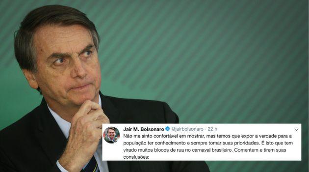 Os tuítes polêmicos fazem parte da persona do presidente Jair