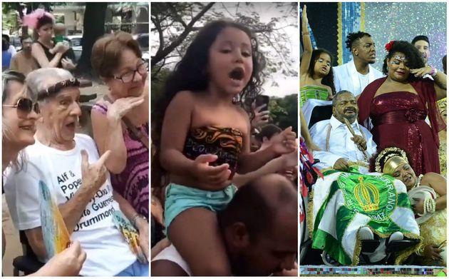 O Carnaval 2019 rendeu cenas tocantes - tanto para quem ama quanto para quem odeia os dias de