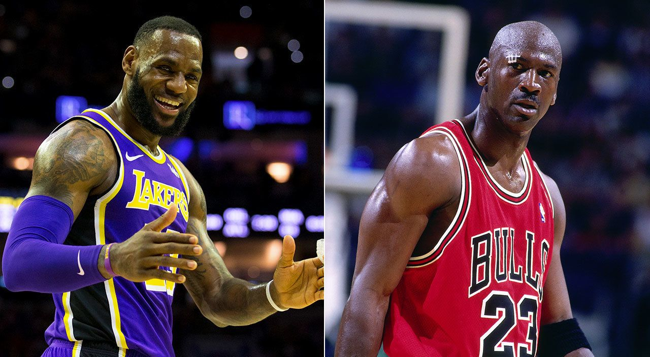Pippen has reignited the never-ending LeBron vs Jordan GOAT debate. Pic: Getty