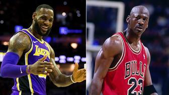 Pippen has reignited the never-ending LeBron vs Jordan GOAT debate. Pic: Getty