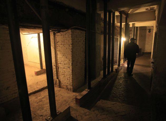 Σήραγγες και στρατιωτικό οχυρό ανακαλύφθηκαν κάτω από τις φυλακές του