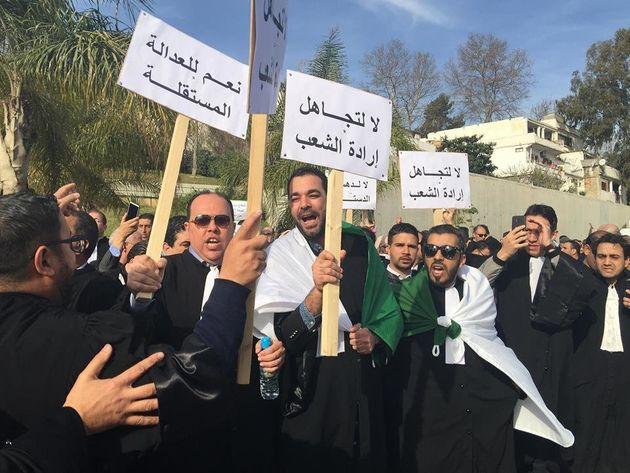 Manifestation des avocats: