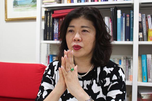 法政大学経営大学院の高田朝子教授