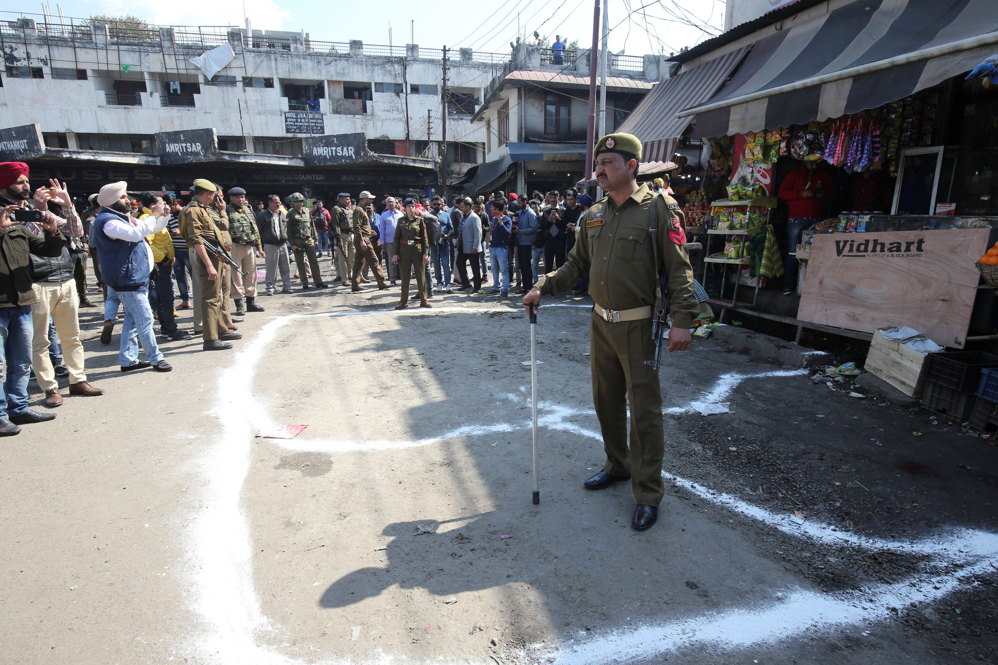 Jammu blast: Injured toll reaches 18