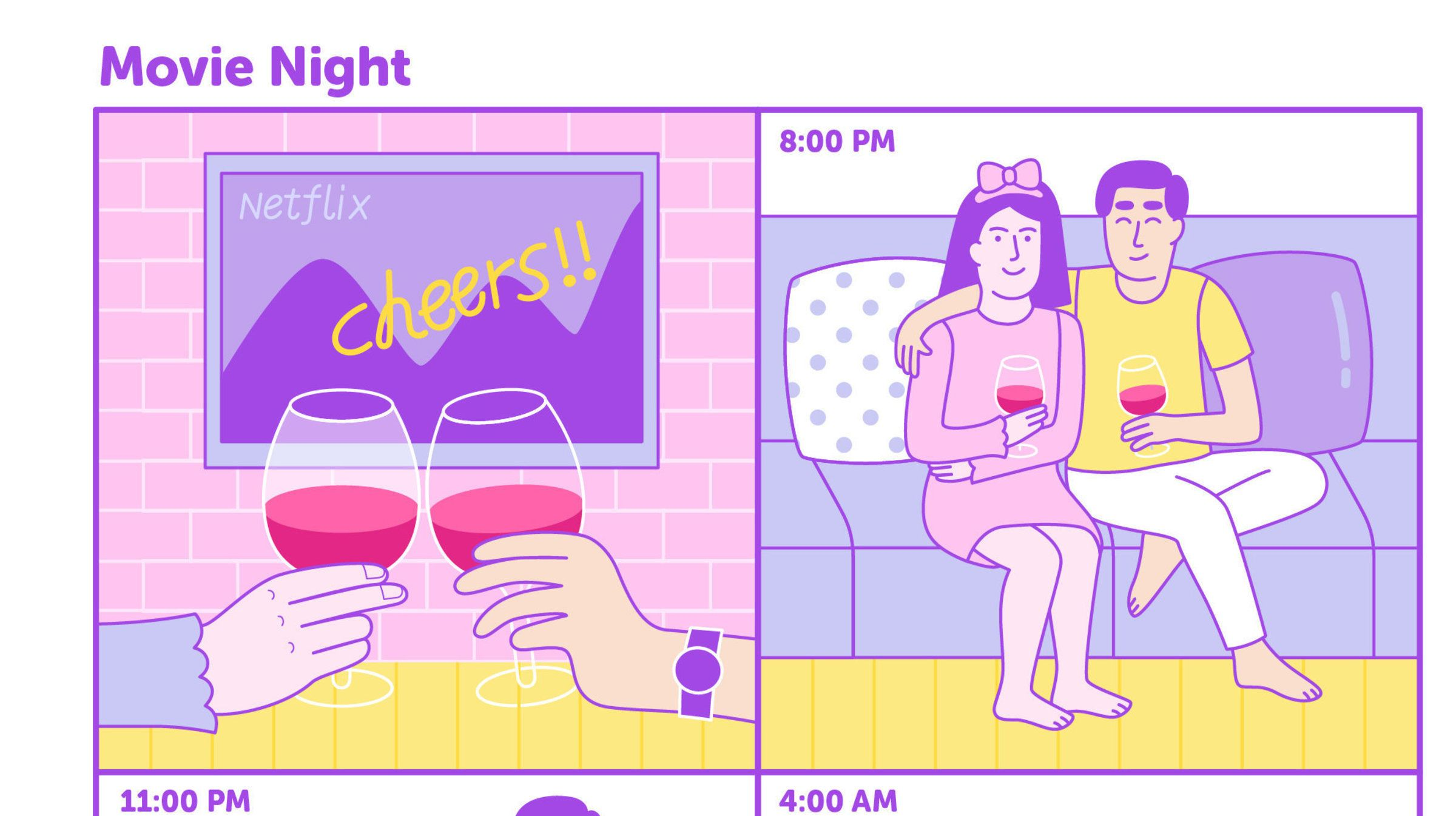 This Is What 'Netflix And Chill' Looks Like For Longtime