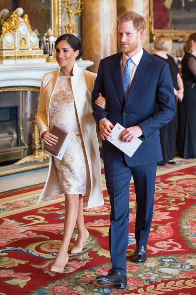 Meghan und Prinz Harry sind seit Mai 2018
