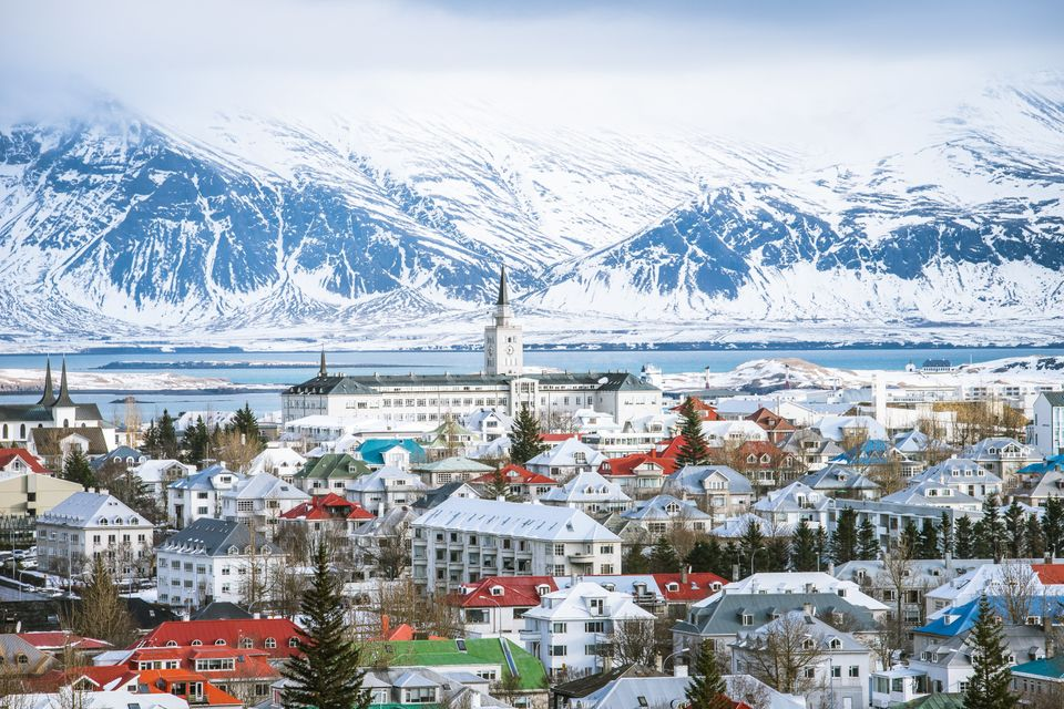 In Iceland's capital city of Reykjavik, women make up nearly 40 percent of