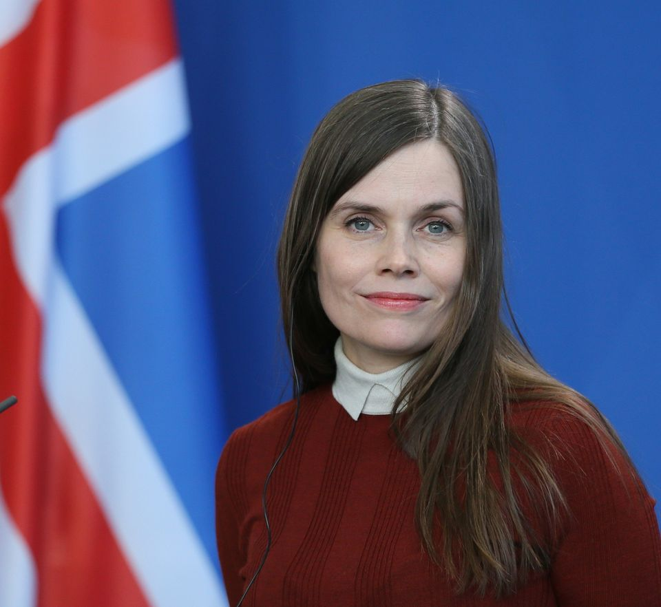 Iceland's current prime minister, Katrín Jakobsdóttir, is the second woman to hold that