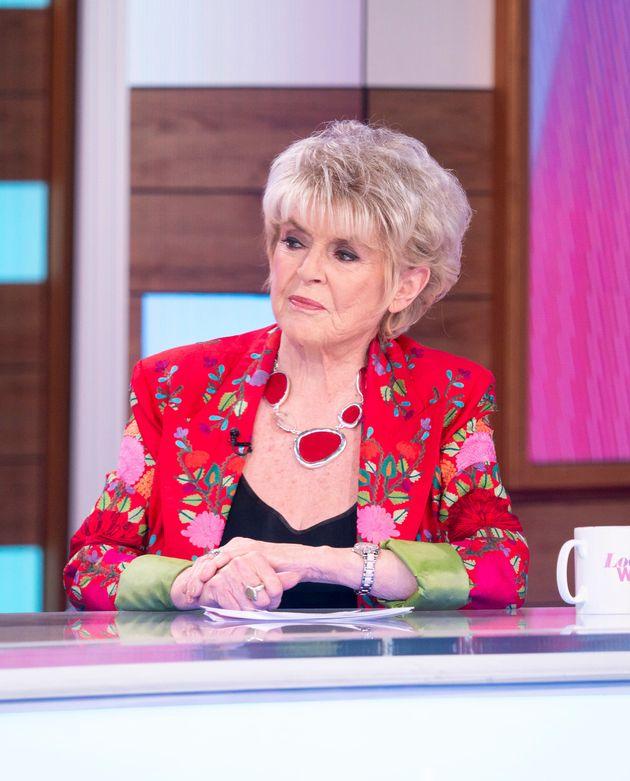Gloria Hunniford was a guest panellist on Thursday's Loose