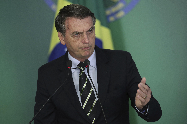 Jair Bolsonaro falou aos fuzileiros navais sobre necessidade de reforma da