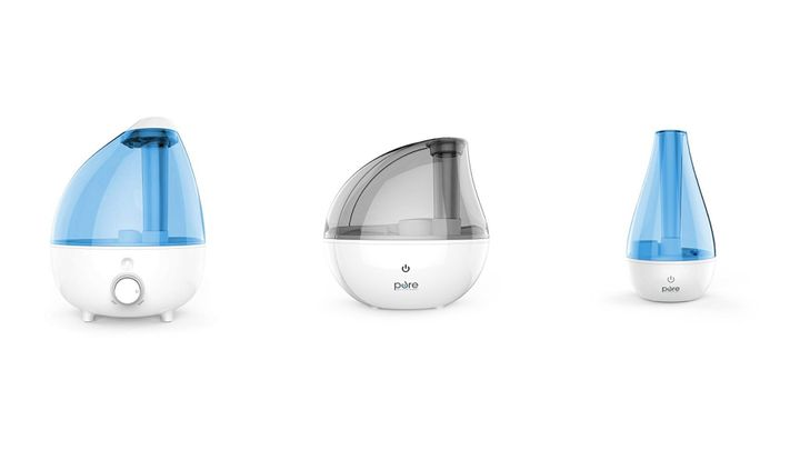 "From left to right:&nbsp;the <strong><a href=""https://www.amazon.com/Pure-Enrichment-MistAire-Ultrasonic-Humidifier/dp/B01M06T0RA?tag=thehuffingtonp-20"" target=""_blank"" rel=""noopener noreferrer"">gallon-size extra-large model</a></strong>, <a href=""https://www.amazon.com/Pure-Enrichment-MistAire-Ultrasonic-Humidifier/dp/B073WJ5M1B?tag=thehuffingtonp-20"" target=""_blank"" rel=""noopener noreferrer""><strong>the silver model</strong></a>&nbsp;and the&nbsp;<strong><a href=""https://www.amazon.com/Pure-Enrichment-MistAire-Ultrasonic-Humidifier/dp/B01NAAH6EL?tag=thehuffingtonp-20"" target=""_blank"" rel=""noopener noreferrer"">small portable model</a></strong>.&nbsp;All are part of Amazon's Daily Deal for Thursday."