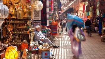 Souk, Marrakech, Morocco