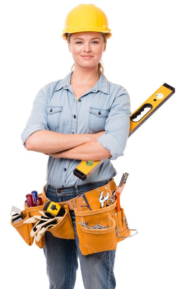 大工として働く女性も全国に3500人以上いる