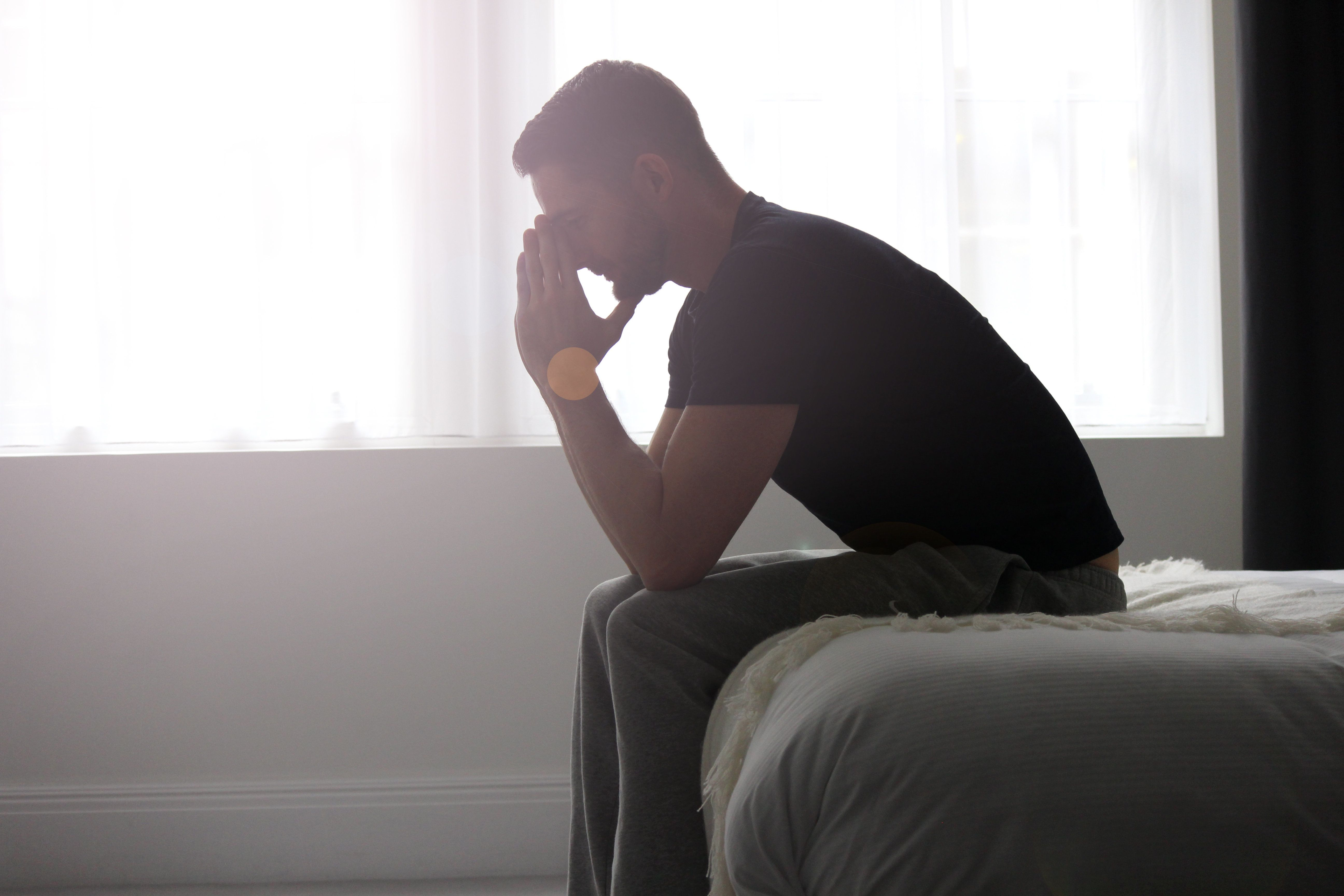 Men who are really struggling after a miscarriage often fail to get help, in part because they do not necessarily present their grief in a way that others recognize.