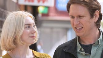 """Madeline Wise and Pete Holmes in """"Crashing"""" on HBO."""