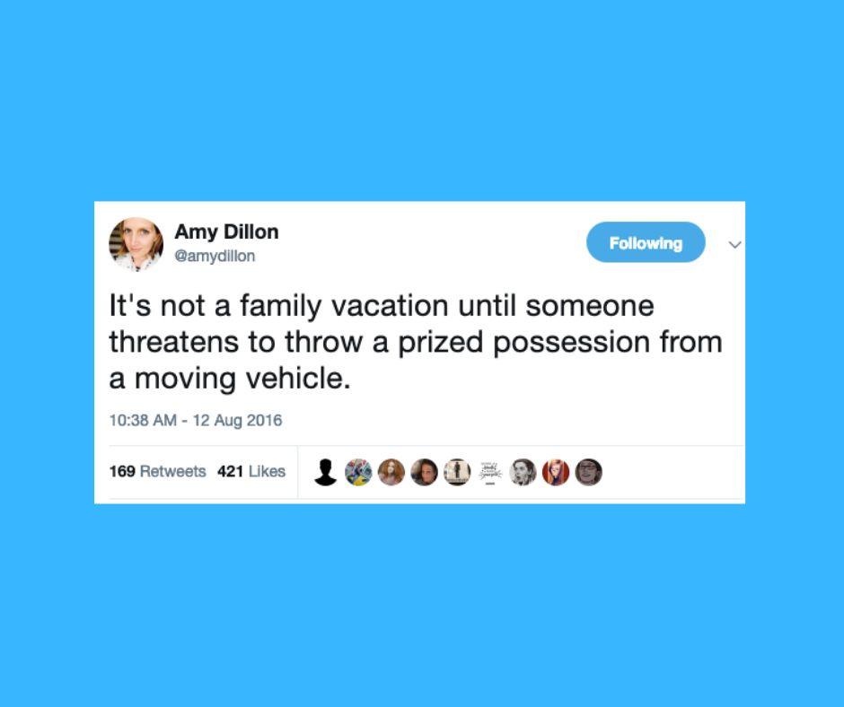 45 Hilarious Tweets About Traveling With Kids