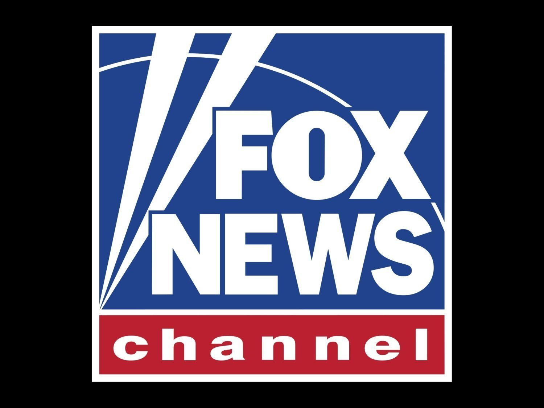 FOX NEWS CHANNEL logo, graphic element on black