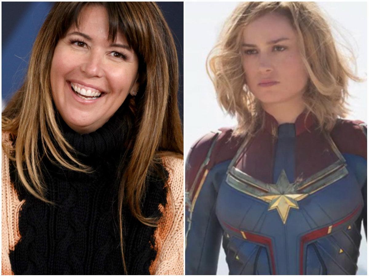 A diretora de 'Mulher-Maravilha' preferiu a sororidade na estreia de 'Capitã