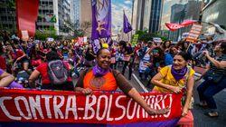 Atos políticos do Dia da Mulher miram em Jair Bolsonaro e na reforma da