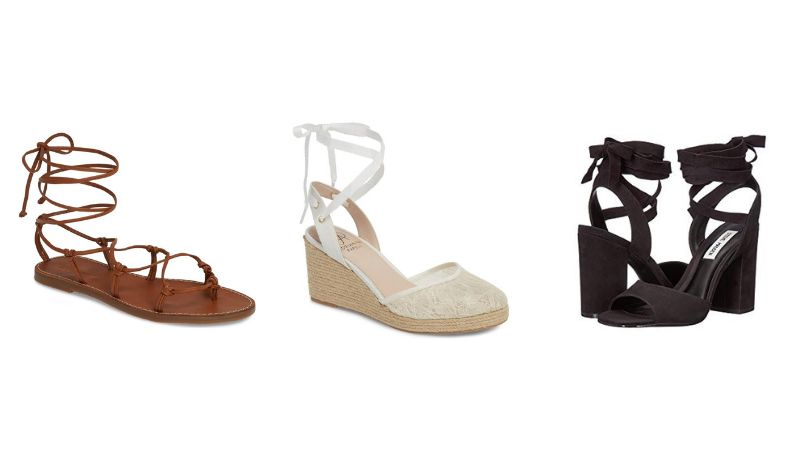 20 Lace-Up Sandals That Will Tie