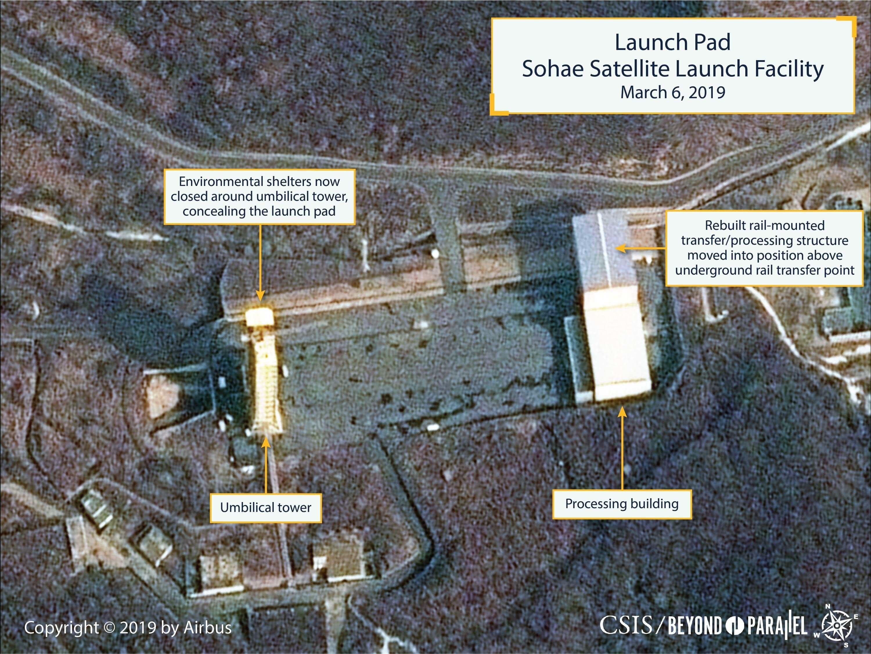 트럼프가 북한 동창리 발사대 복구에 이틀째