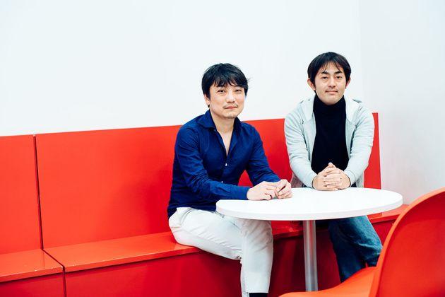 國光さん(左)と株式会社フィナンシェCEO・田中隆一さん