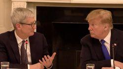 トランプ大統領、アップル社長の名前を間違える⇒本人もネタに