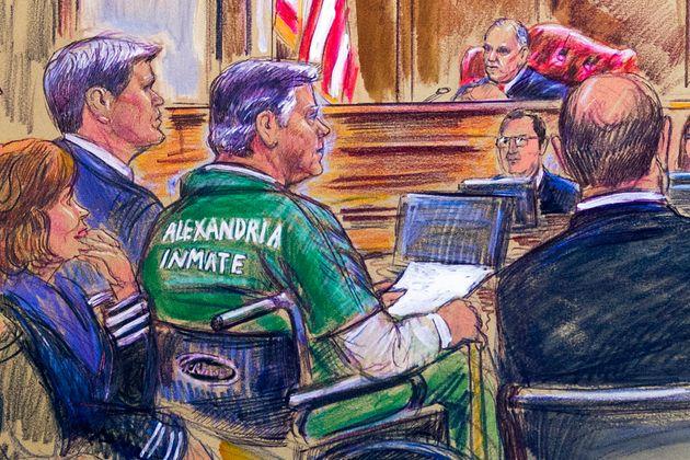 트럼프 대선캠프 본부장 폴 매너포트에게 징역 4년형이