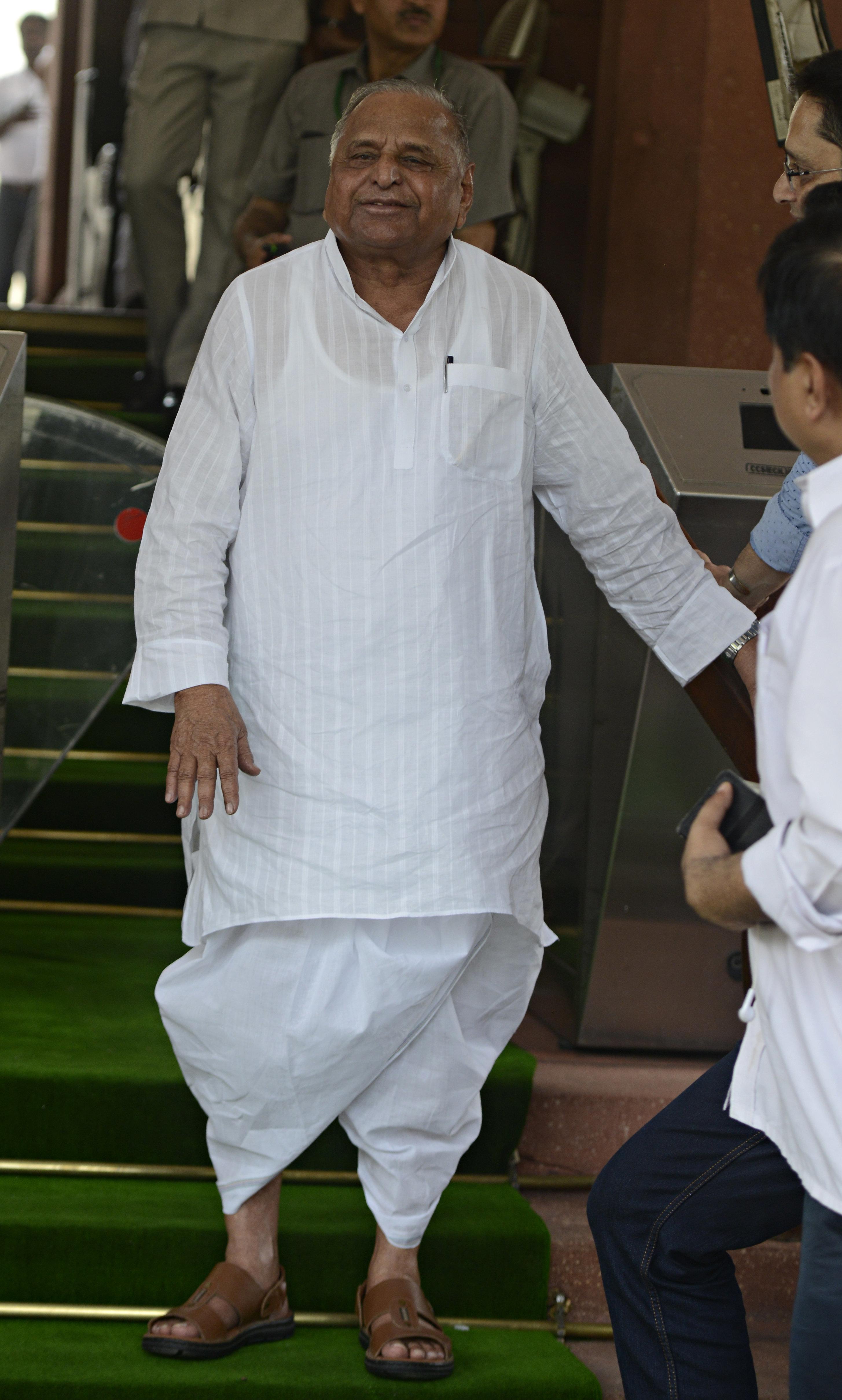 Mulayam Singh Yadav To Fight From Samajwadi Party's 'Stronghold' Mainpuri In Lok Sabha
