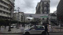 Marche contre le 5e mandat: Dispositif de police allégé au centre, renforcé sur les hauteurs