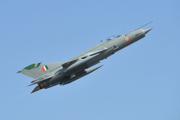 MiG-21 Crashes In Rajasthan's Bikaner, Pilot Ejects
