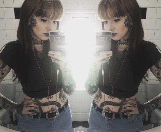 «Έκανα τατουάζ στο πρόσωπό μου για να μην βρω ποτέ κανονική