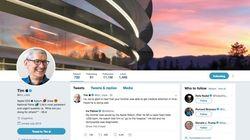 Tim Cook devient Tim Apple sur Twitter après la bourde de