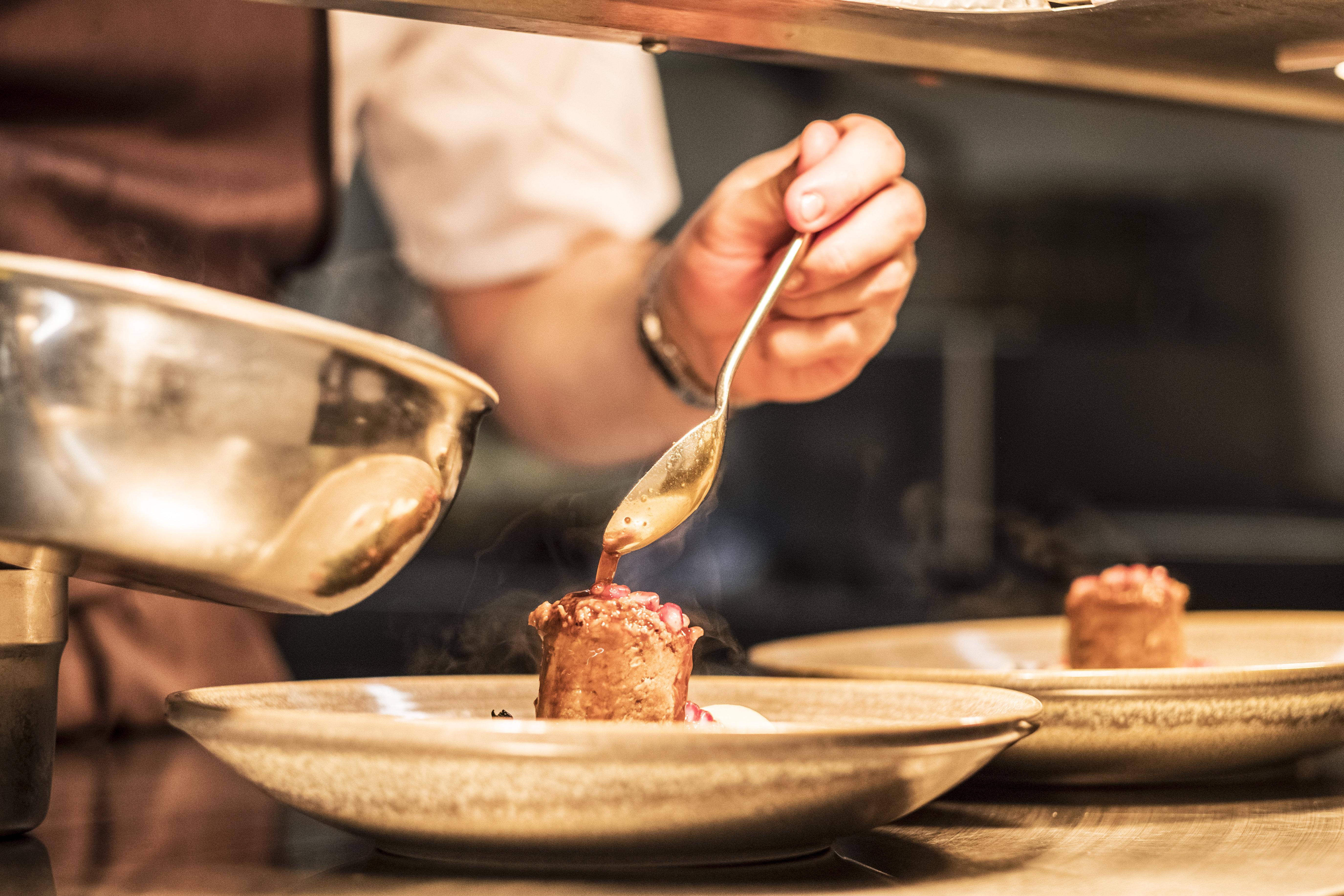 Κρίστοφ Ρίμπατ: «Το φαγητό είναι το λιγότερο απ' όλα όσα συμβαίνουν σ' ένα