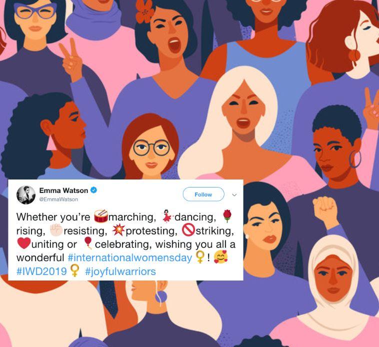 Celebrities Shout Out The Glory Of Women On International Women's