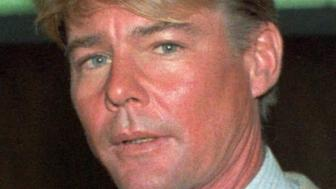 FILE--Actor Jan-Michael Vincent, shown in a September 1986 file photo, was charged Monday, Sept. 23, 1996 in Orange County, Calif., with drunken driving in connection with an Aug. 26 traffic accident that broke his neck, authorities said. Vincent, 52, faces three misdemeanor counts of driving under the influence, driving with a blood-alcohol level exceeding .08 percent, and driving with a suspended license, said Orange County Deputy District Attorney Larry Yellin. (AP Photo/Nick Ut, File)