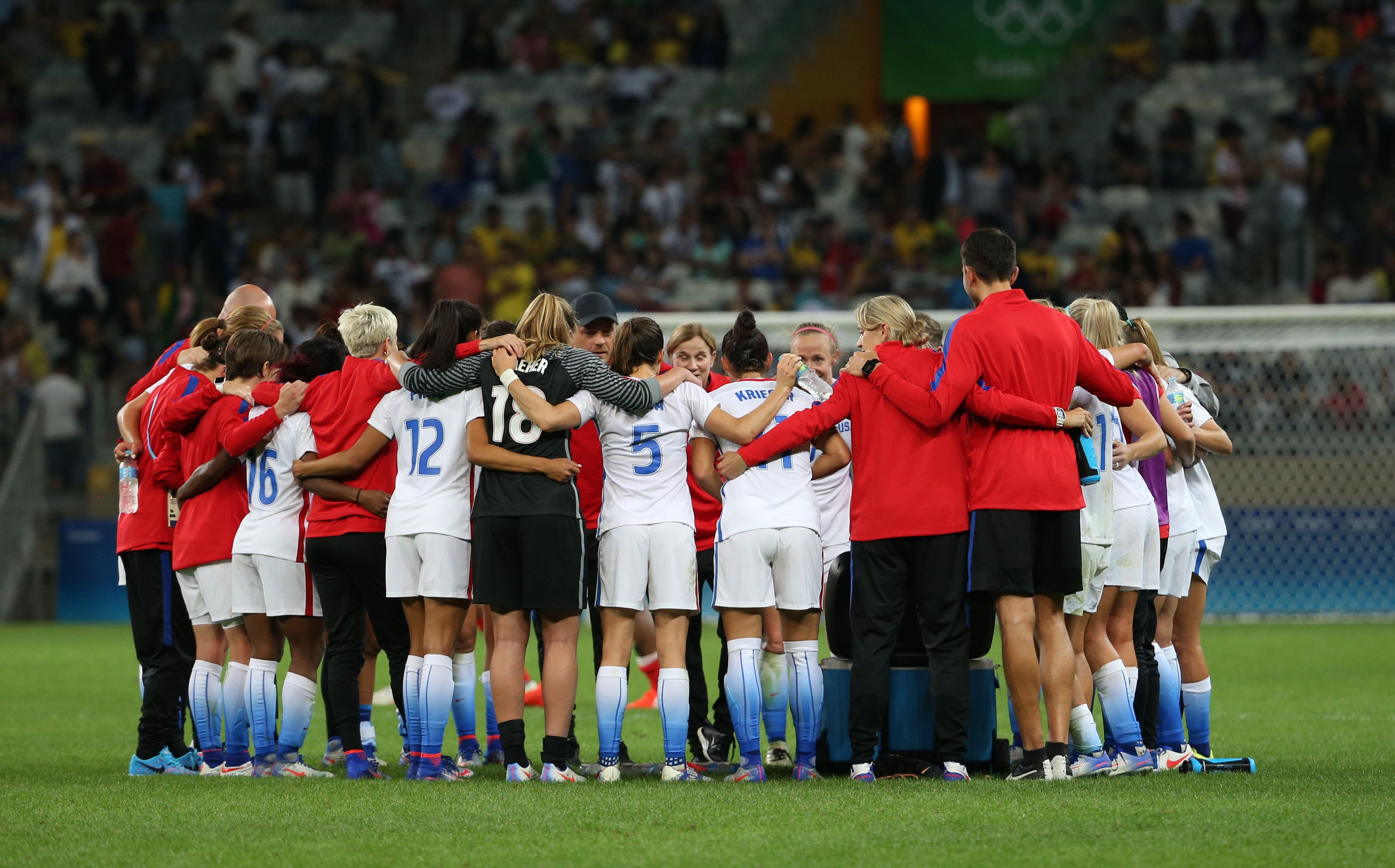 U.S. Women's Soccer Team Sues Federation For Equal