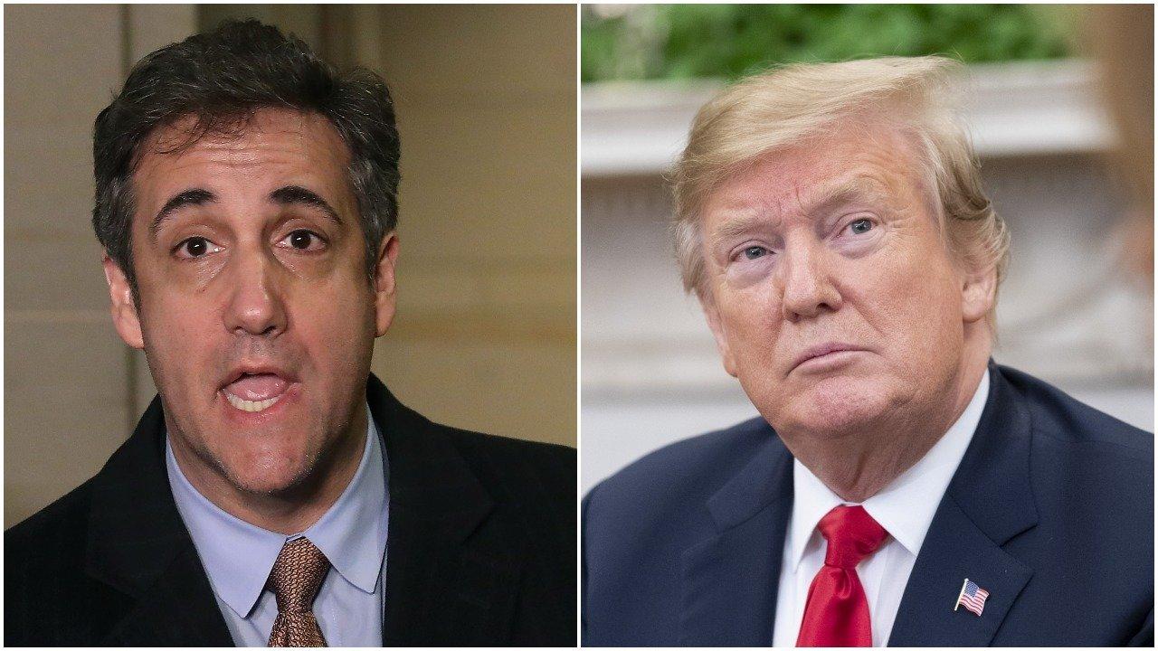 Michael Cohen/ Donald Trump