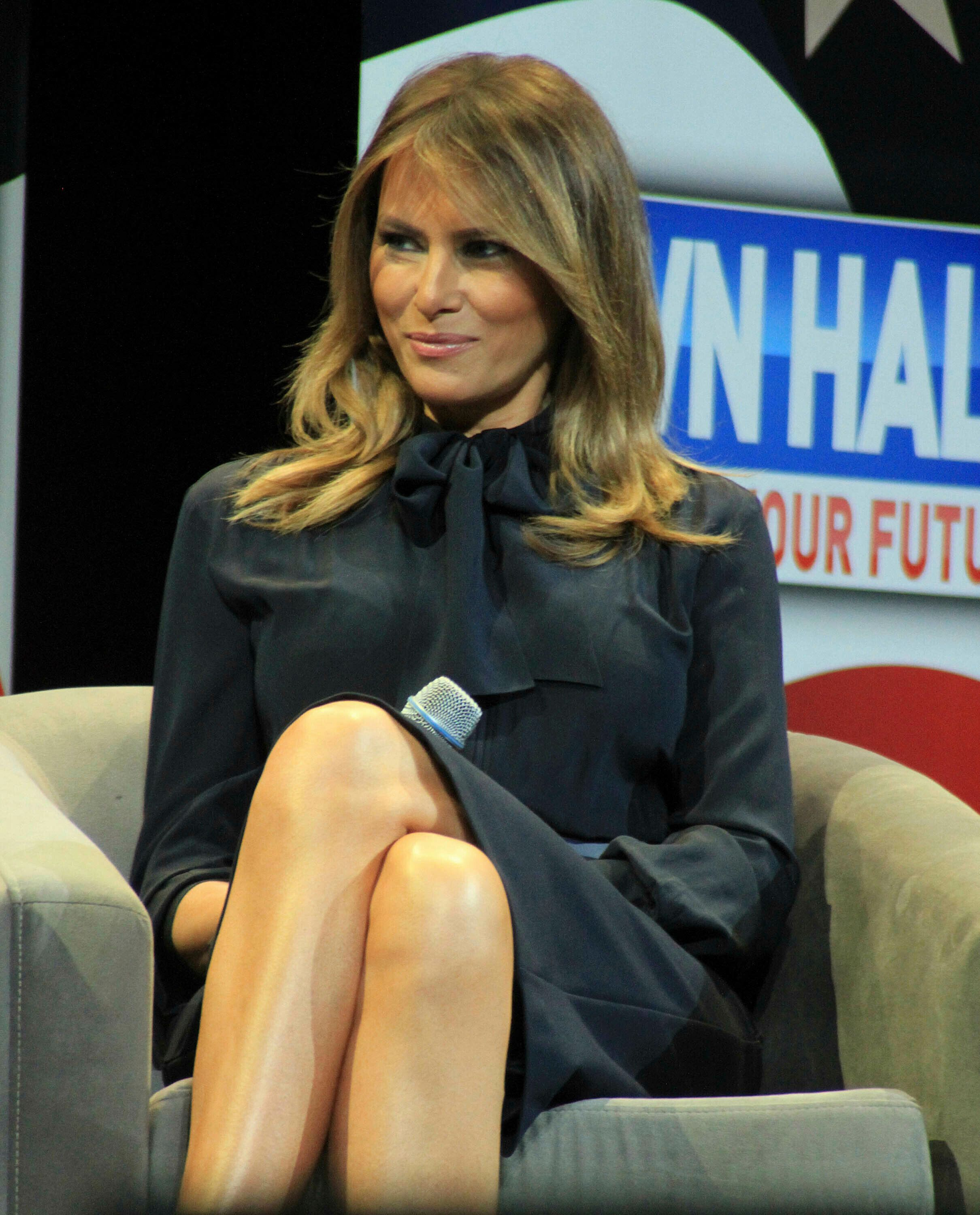 """Photo by: Raoul Gatchalian/STAR MAX/IPx 2019 3/5/19 Melania Trump promotes her """"BE BEST"""" intiative at Westgate Casino Hotel in Las Vegas, Nevada."""