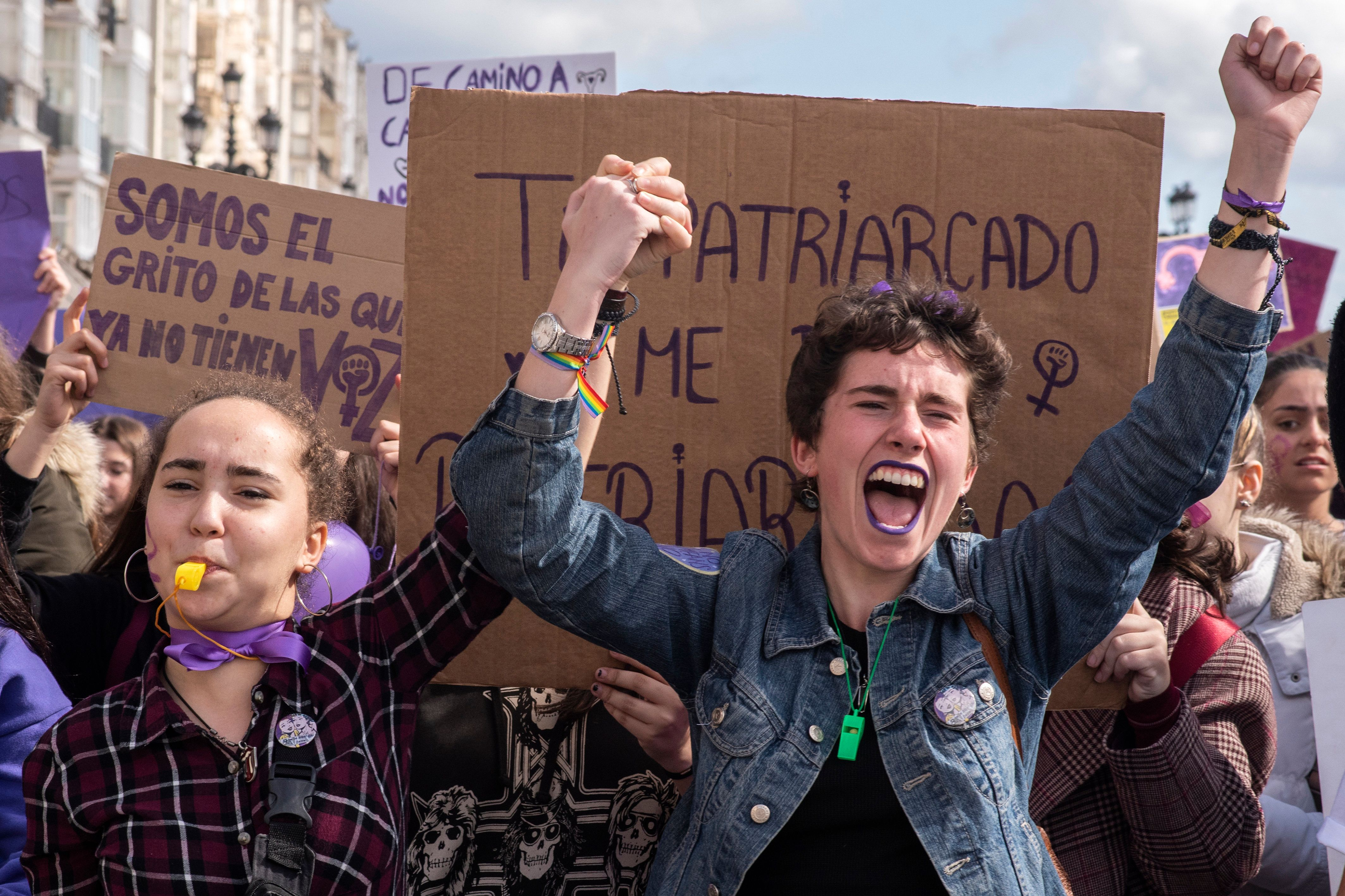 Thousands Strike In Spain To Demand Equal Pay, End To Gender Discrimination