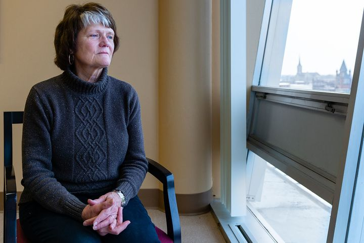 Doris Levering says her husband, Mark, underwent a procedure to remove an abscess from his liver and ended up in a coma for w