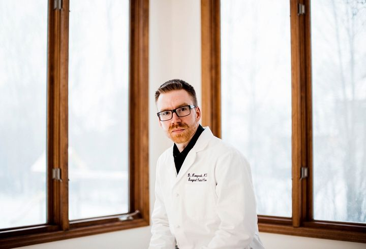 After Dr. Douglas Kwazneski witnessed a surgical stapler malfunction, he surveyed leading surgeons and discovered that more t