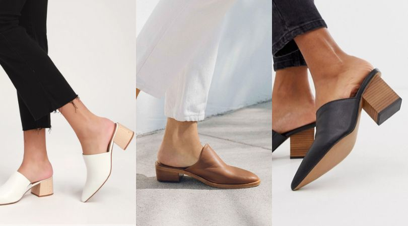 18 Must-Have Pointed-Toe Mules To Slip
