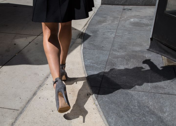 """Upskirting"" -- or taking a photo up a woman's skirt -- is now an act of sexual offense punishable by up to two years in pris"