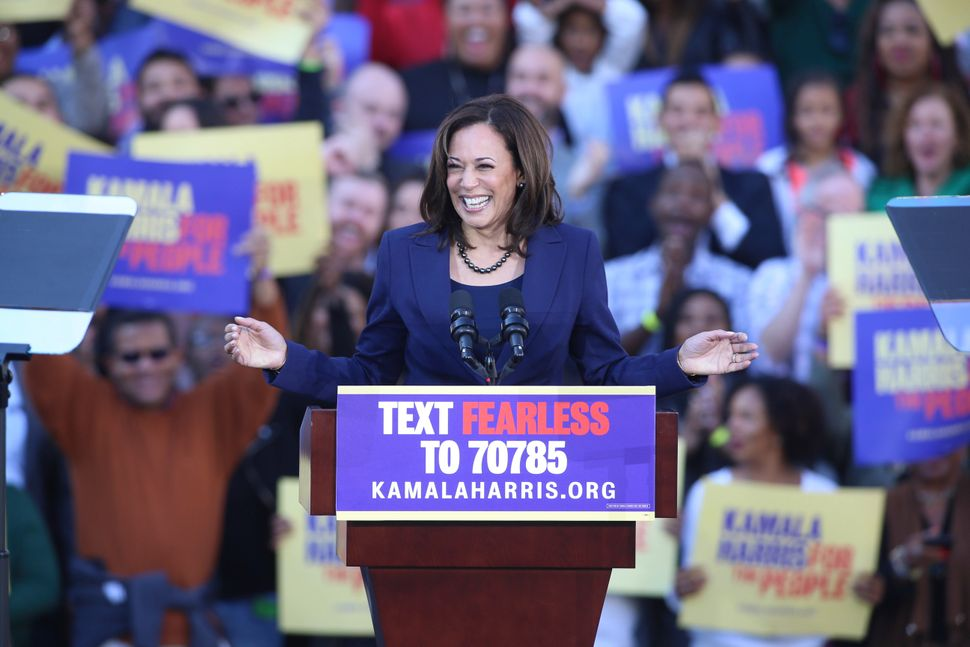 Sen. Kamala Harris (D-Calif.) is the western candidate seen as most likely to capture the nomination.