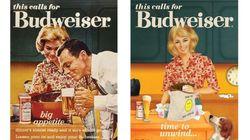 Budweiser moderniza anúncios machistas dos anos 50 para Dia Internacional da