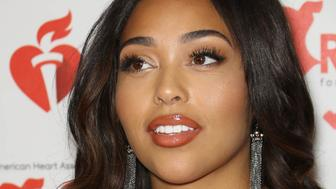MARCH 4, 2019: THE KHLOE KARDASHIAN, TRISTAN THOMPSON, JORDYN WOODS CHEATING SCANDAL / LOVE TRIANGLE CONTINUES - Model Jordyn Woods, the best friend of Khloe Kardashian's sister Kylie Jenner, is alleged to have been intimate with Tristan Thompson, the father of Khloe's daughter, True which led to the recent break-up of Khloe and Tristan. - File Photo by: zz/John Nacion/STAR MAX/IPx 2019 2/7/19 Jordyn Woods at The American Heart Association's Go Red For Women Red Dress Collection in New York City. (NYC)